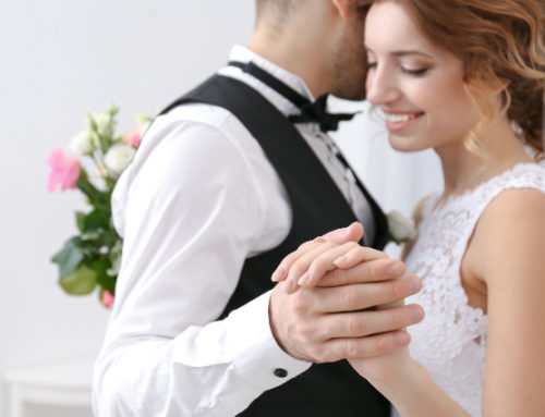 Gratulerar till kärleken, dansen ordnar vi!